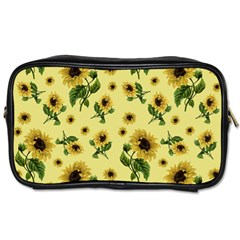 Sunflowers Pattern Toiletries Bags by Valentinaart
