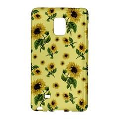 Sunflowers Pattern Galaxy Note Edge by Valentinaart