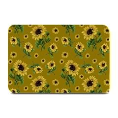 Sunflowers Pattern Plate Mats by Valentinaart