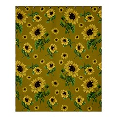 Sunflowers Pattern Shower Curtain 60  X 72  (medium)  by Valentinaart