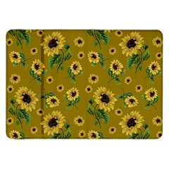 Sunflowers Pattern Samsung Galaxy Tab 8 9  P7300 Flip Case by Valentinaart