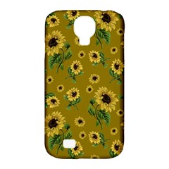 Sunflowers Pattern Samsung Galaxy S4 Classic Hardshell Case (pc+silicone) by Valentinaart