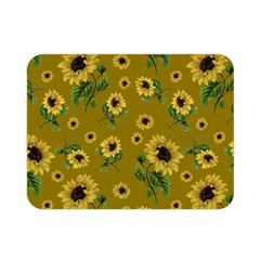 Sunflowers Pattern Double Sided Flano Blanket (mini)  by Valentinaart