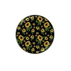 Sunflowers Pattern Hat Clip Ball Marker (4 Pack) by Valentinaart