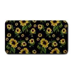 Sunflowers Pattern Medium Bar Mats by Valentinaart
