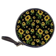 Sunflowers Pattern Classic 20 Cd Wallets by Valentinaart