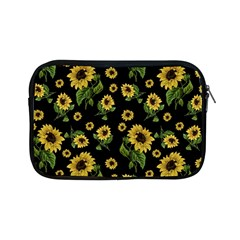 Sunflowers Pattern Apple Ipad Mini Zipper Cases by Valentinaart