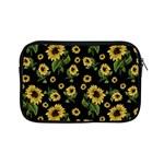Sunflowers pattern Apple iPad Mini Zipper Cases Front