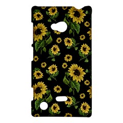 Sunflowers Pattern Nokia Lumia 720 by Valentinaart