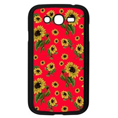 Sunflowers Pattern Samsung Galaxy Grand Duos I9082 Case (black) by Valentinaart
