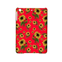 Sunflowers Pattern Ipad Mini 2 Hardshell Cases by Valentinaart