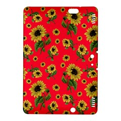 Sunflowers Pattern Kindle Fire Hdx 8 9  Hardshell Case by Valentinaart