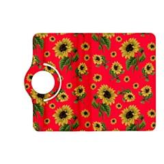 Sunflowers Pattern Kindle Fire Hd (2013) Flip 360 Case by Valentinaart