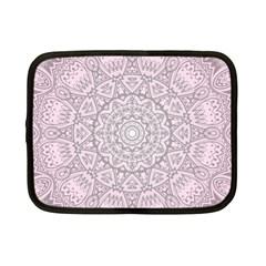 Pink Mandala art  Netbook Case (Small)