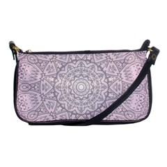 Pink Mandala art  Shoulder Clutch Bags