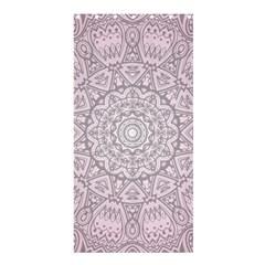 Pink Mandala art  Shower Curtain 36  x 72  (Stall)