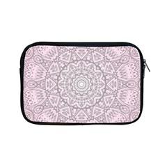 Pink Mandala art  Apple iPad Mini Zipper Cases