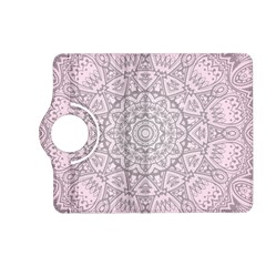 Pink Mandala art  Kindle Fire HD (2013) Flip 360 Case
