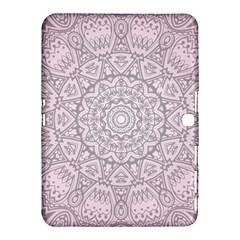 Pink Mandala art  Samsung Galaxy Tab 4 (10.1 ) Hardshell Case