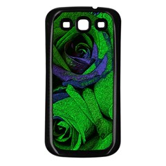 Roses Vi Samsung Galaxy S3 Back Case (black) by markiart