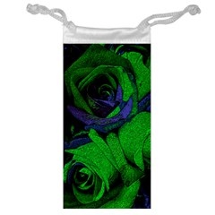 Roses Vi Jewelry Bag by markiart