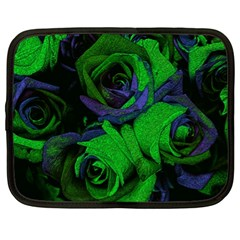Roses Vi Netbook Case (xl)  by markiart