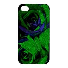 Roses Vi Apple Iphone 4/4s Premium Hardshell Case by markiart