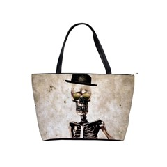 Mr  Bones Large Shoulder Bag by sirhowardlee