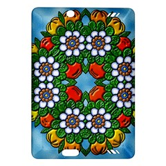 Cute Floral Mandala  Amazon Kindle Fire Hd (2013) Hardshell Case by paulaoliveiradesign