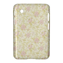 Floral Paper Pink Girly Pattern Samsung Galaxy Tab 2 (7 ) P3100 Hardshell Case  by paulaoliveiradesign