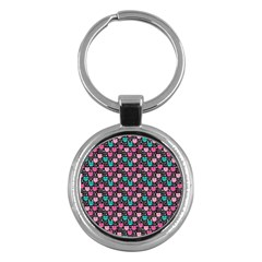 Cute Cats Iv Key Chains (round)  by tarastyle