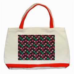 Cute Cats Iv Classic Tote Bag (red) by tarastyle