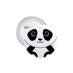 Bear Panda Bear Panda Animals 1 75  Buttons by Nexatart