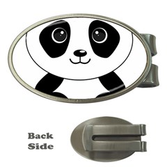 Bear Panda Bear Panda Animals Money Clips (oval)
