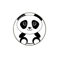 Bear Panda Bear Panda Animals Hat Clip Ball Marker by Nexatart