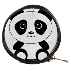 Bear Panda Bear Panda Animals Mini Makeup Bags