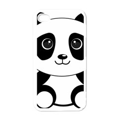 Bear Panda Bear Panda Animals Apple Iphone 4 Case (white) by Nexatart