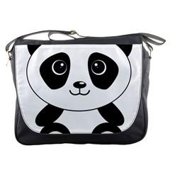 Bear Panda Bear Panda Animals Messenger Bags