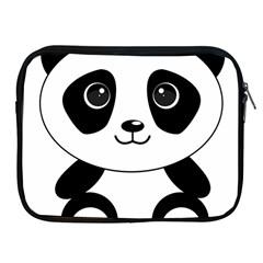 Bear Panda Bear Panda Animals Apple Ipad 2/3/4 Zipper Cases by Nexatart
