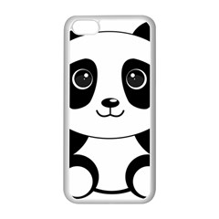 Bear Panda Bear Panda Animals Apple Iphone 5c Seamless Case (white)