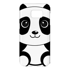 Bear Panda Bear Panda Animals Samsung Galaxy S7 Edge Hardshell Case