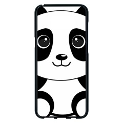 Bear Panda Bear Panda Animals Samsung Galaxy S8 Plus Black Seamless Case by Nexatart