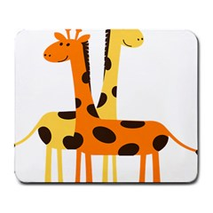 Giraffe Africa Safari Wildlife Large Mousepads by Nexatart