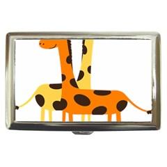 Giraffe Africa Safari Wildlife Cigarette Money Cases