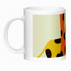 Giraffe Africa Safari Wildlife Night Luminous Mugs by Nexatart