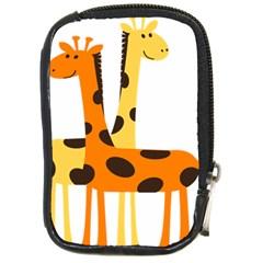 Giraffe Africa Safari Wildlife Compact Camera Cases by Nexatart