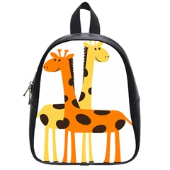 Giraffe Africa Safari Wildlife School Bag (small)