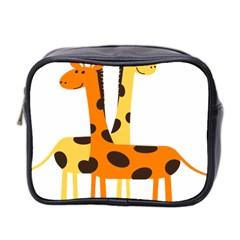 Giraffe Africa Safari Wildlife Mini Toiletries Bag 2 Side