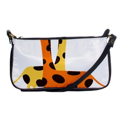 Giraffe Africa Safari Wildlife Shoulder Clutch Bags by Nexatart