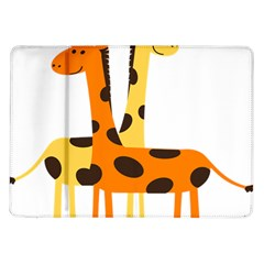 Giraffe Africa Safari Wildlife Samsung Galaxy Tab 10 1  P7500 Flip Case by Nexatart